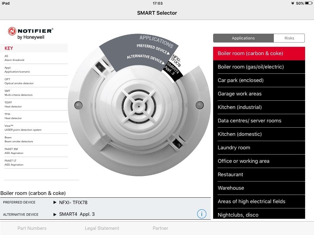 Notifier SMART Selector App: Notifier Fire Systems